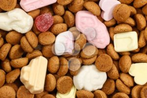 Background pepernoten and sweets Sinterklaas - Popular Stock Photos