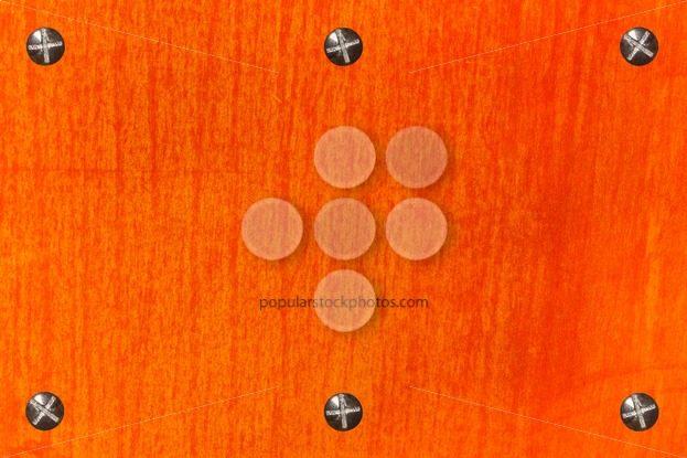 Background rusty metal rectangle six bolts – Popular Stock Photos