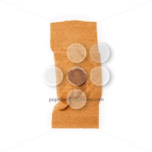 Band aid tear off dried blood isolated - Popular Stock Photos