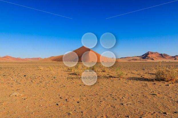Big red sand dune landscape Sossusvlei – Popular Stock Photos