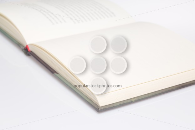 Book empty page only front focus - Popular Stock Photos