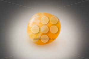 Bright orange calcite gray - Popular Stock Photos