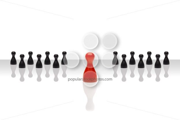 Business concept leader forward red black grouped gradient – Popular Stock Photos
