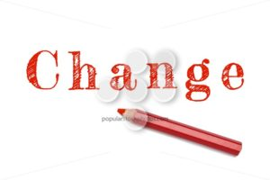 Change sketch red pencil - Popular Stock Photos
