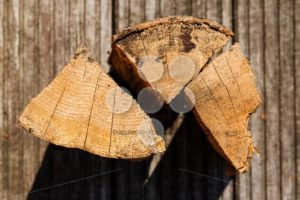 Close up of chopped fire wood pieces - Popular Stock Photos