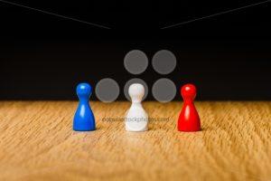 Concept blue white red team - Popular Stock Photos