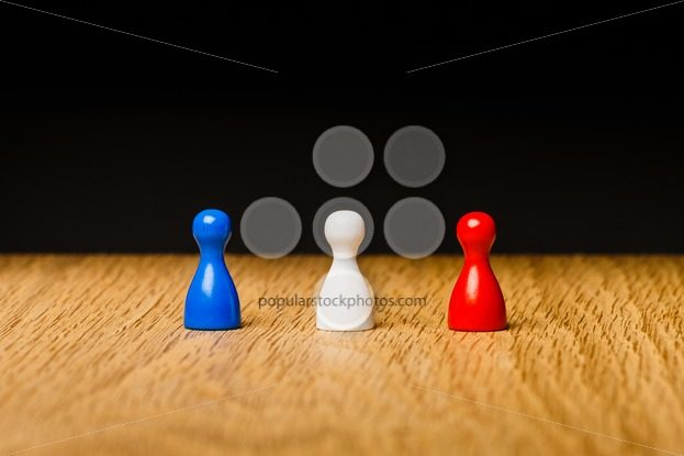 Concept blue white red team – Popular Stock Photos