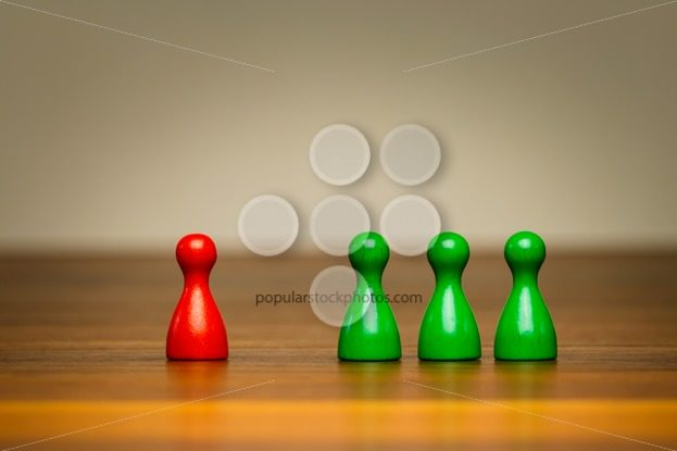 Concept good bad, isolation, confrontation, competition – Popular Stock Photos
