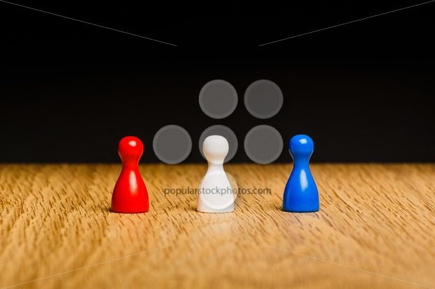 Concept red white blue team – Popular Stock Photos