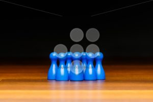 Concept team, group, friends, blue and black - Popular Stock Photos