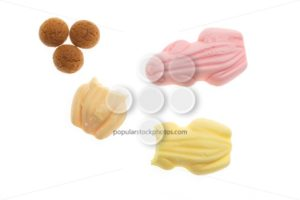 Delicious frog sweets pepernoten Sinterklaas - Popular Stock Photos