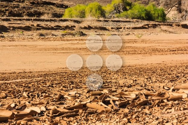 Dry riverbed surface cracked – Popular Stock Photos