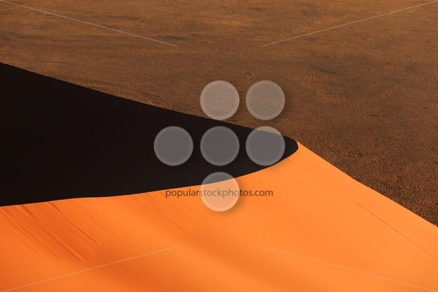 Edge red sanddune Sossusvlei – Popular Stock Photos