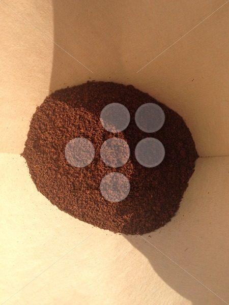 Fresh ground filter coffee - Popular Stock Photos