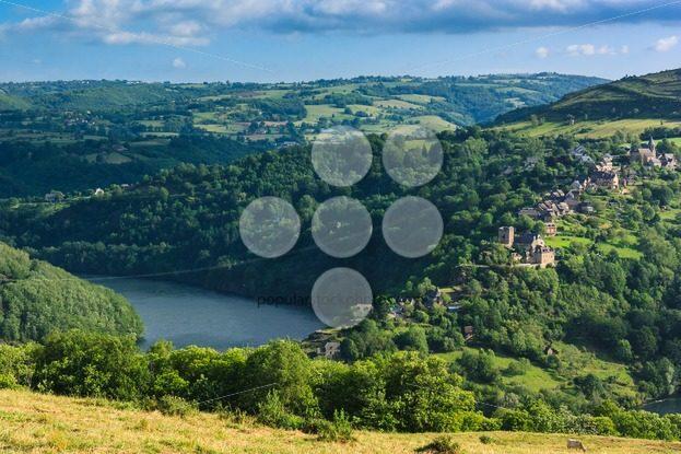 Landscape Lac de Castelnau France – Popular Stock Photos