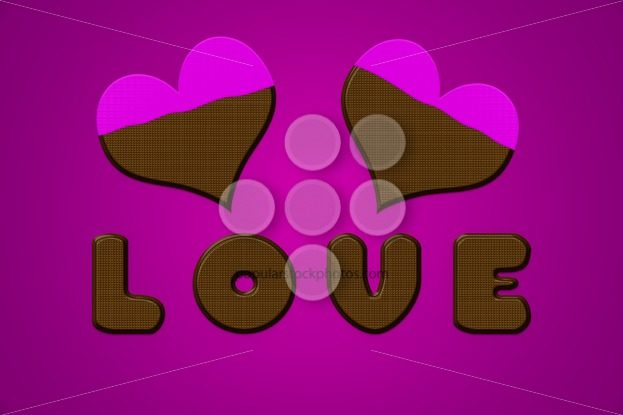 Love letters hearts chocolate valentine pink – Popular Stock Photos