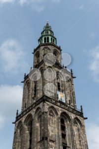 Martini tower in the city Groningen - Popular Stock Photos