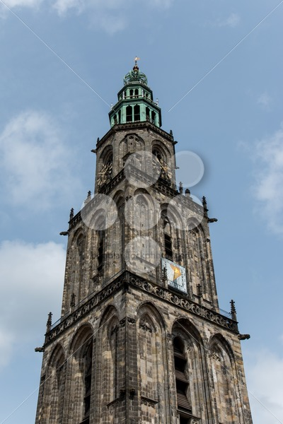 Martini tower in the city Groningen – Popular Stock Photos