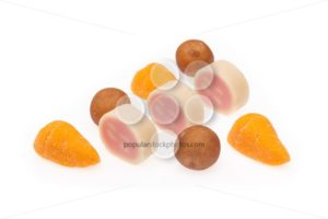Marzipan several Sinterklaas - Popular Stock Photos