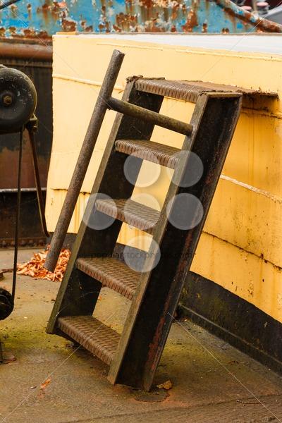Old boat rusty ladder – Popular Stock Photos