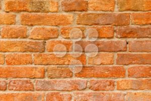 Old orange and red brick wall - Popular Stock Photos