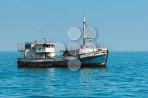 Old ship without engine - Popular Stock Photos