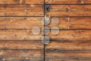 Old worn wooden door detail - Popular Stock Photos