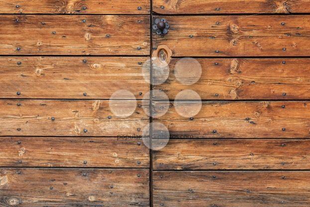 Old worn wooden door detail - Popular Stock Photos