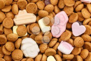 Pepernoten and colorful candy Sinterklaas - Popular Stock Photos