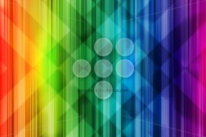 Rainbow background colorful intersect pattern light - Popular Stock Photos