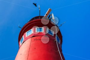 Red lighthouse top - Popular Stock Photos