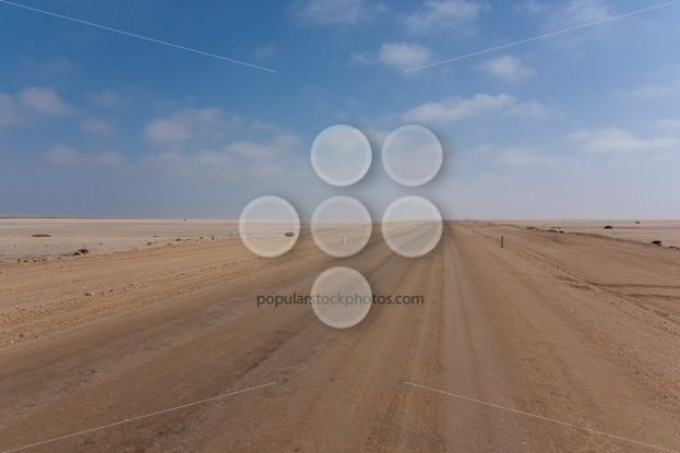 Road between desert and ocean – Popular Stock Photos