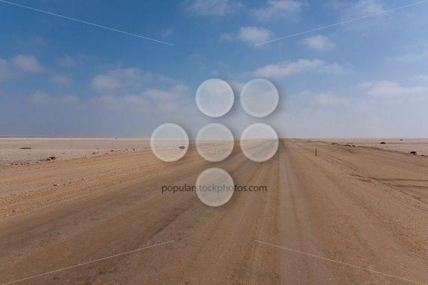 Road between desert and ocean – Popular Stock Photos