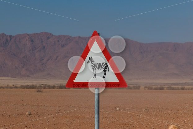 Roadsign zebra crossing in africa – Popular Stock Photos