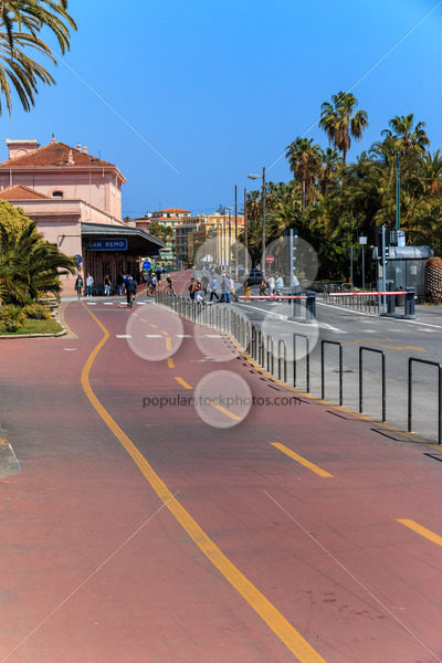 SAN REMO, ITALY – APRIL 29, 2016: Innovation by introducing a sp - Popular Stock Photos