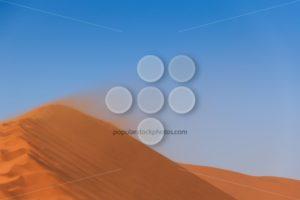 Sandstorm red sand dune Sossusvlei - Popular Stock Photos