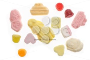Several colorful sweets Sinterklaas - Popular Stock Photos