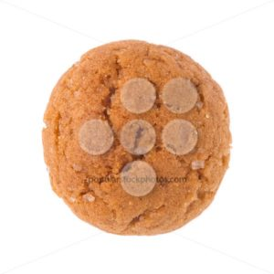 Single pepernoot close up isolated - Popular Stock Photos