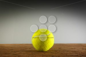 Tennisball wood shadow light - Popular Stock Photos