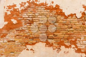 Texture old brick wall plaster - Popular Stock Photos