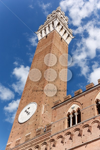 Tower of power Piazza del Campo – Popular Stock Photos