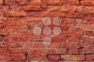 Vintage red brick wall close up - Popular Stock Photos