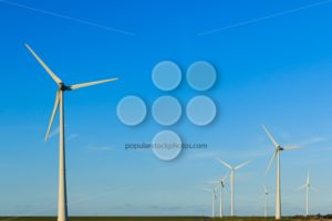 Windmills in a group - Popular Stock Photos