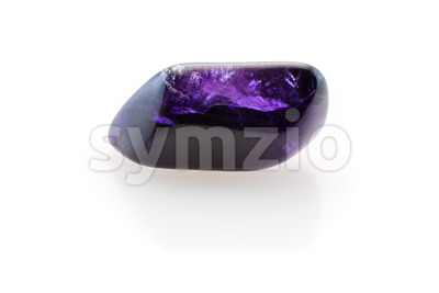 Relaxing amethyst Stock Photo