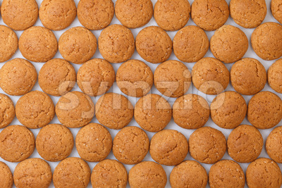 Pattern pepernoten, ginger nuts Sinterklaas Stock Photo