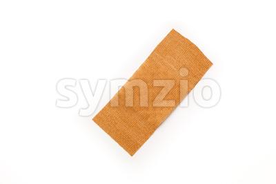 Band aid isolated white Stock Photo
