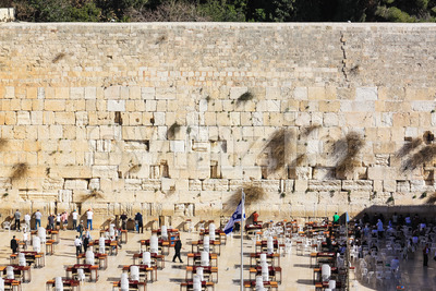 Western wall Jerusalem Stock Photo