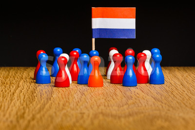 Concept the netherlands kingdom Stock Photo