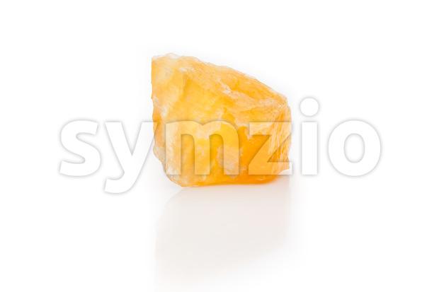 Bright rough orange calcile Stock Photo