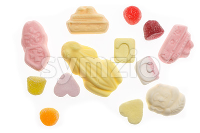 Several colorful sweets Sinterklaas Stock Photo